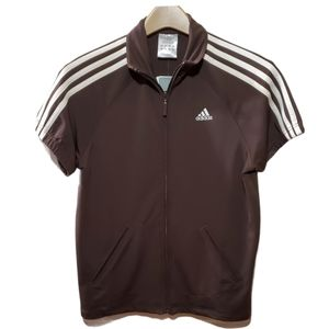 Adidas FTerry Athletic Cross Training Track Jacket